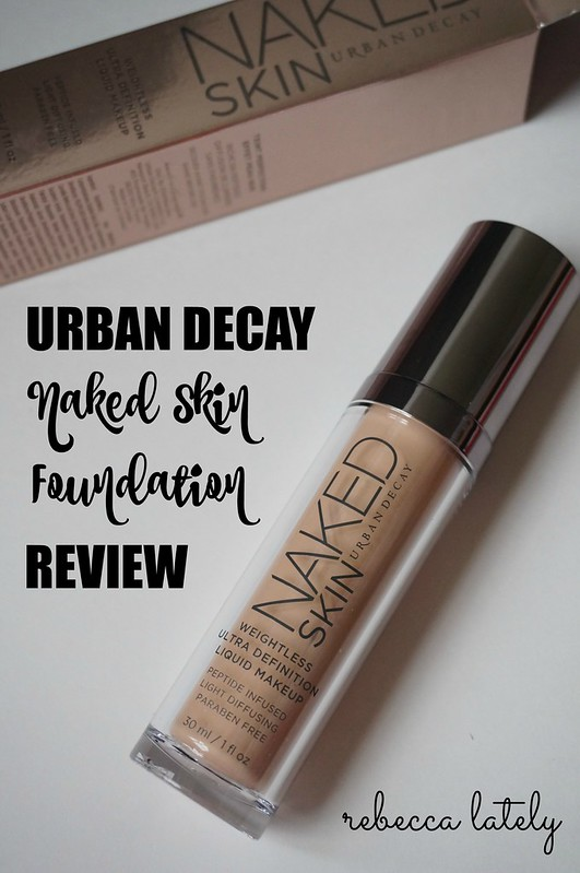 Urban Decay Skin Foundation Review 4