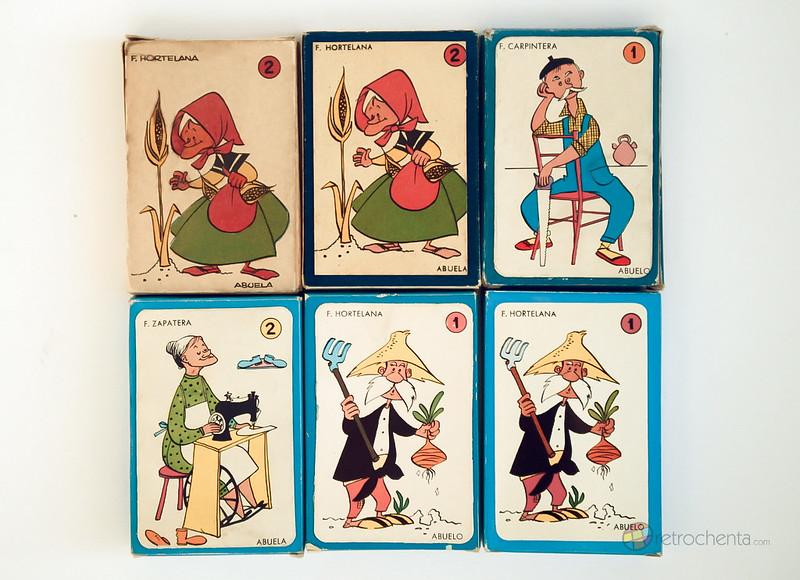El juego de las 7 familias - evolución - delantera