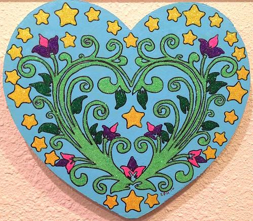 sparkle heart 1