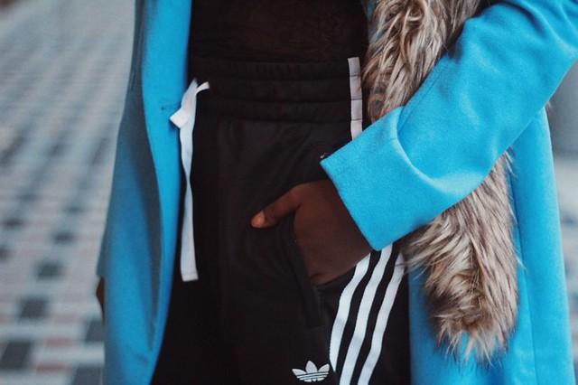 Blue Coat Winter style Bruno Banani Lois Opoku lisforlois