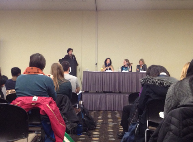 Women in Academia panel at Urbana 2015
