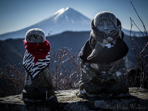 The Stone Buddhas on the mountain
