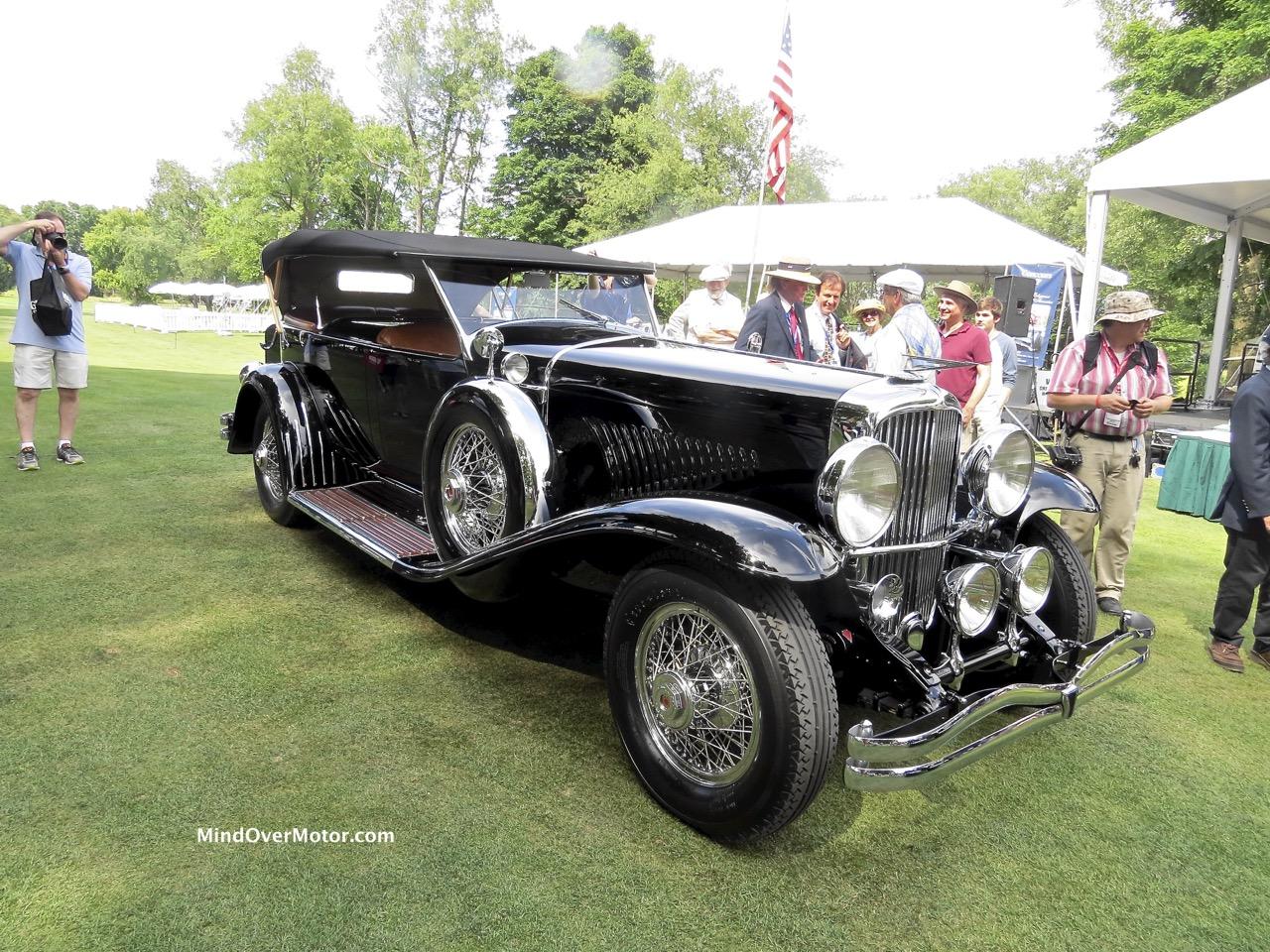 1929 Duesenberg Model J Dual Cowl Phaeton by Murphy Front