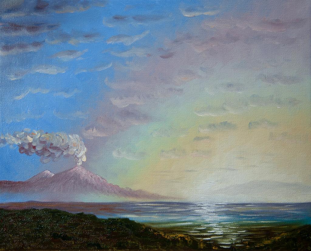 Der qualmende Vesuv