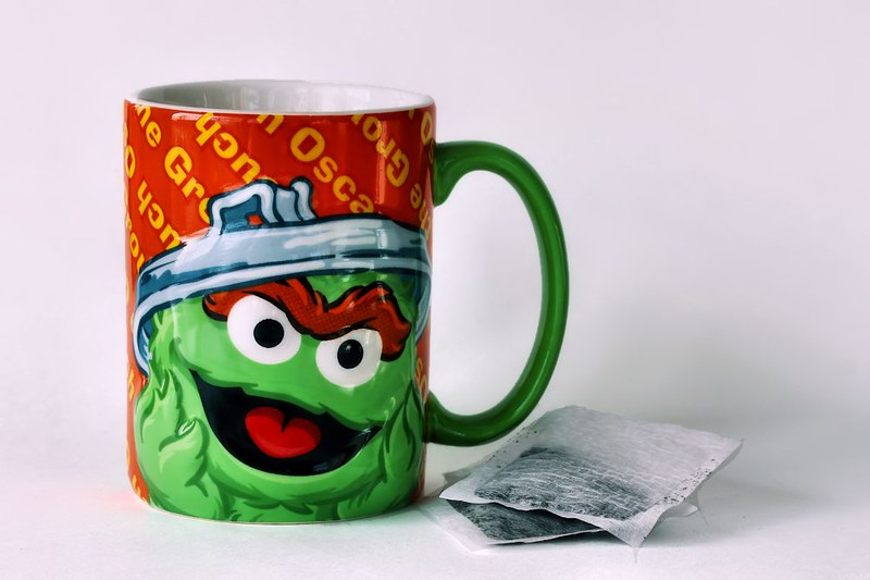 Project 366, Day 8: Oscar The Grouch Mug