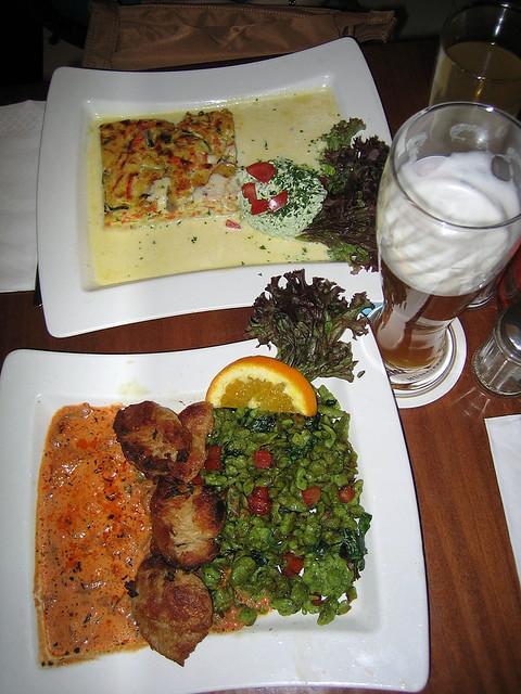 Dinner at Prinz Myshkin