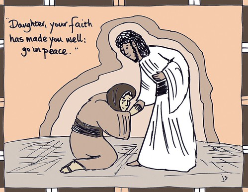 Jesus Heals the Widow