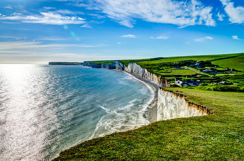 white cliffs southcoast sevensisters beachyhead