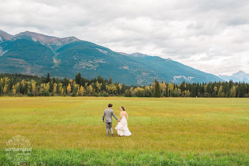 Rocky Mountain Wedding - British Columbia Canada Elope