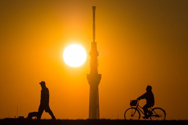 20160117_05_Sunset and Tokyo Sky Tree