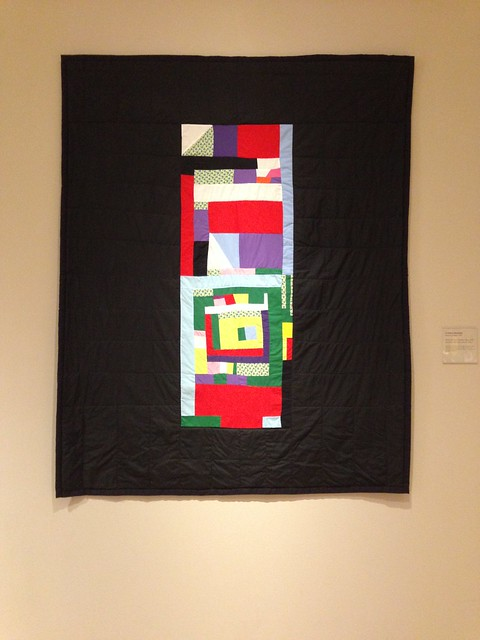 Louisiana Bendolph, Blocks and Strips Medallion Quilt, High Museum, Atlanta GA