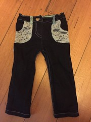 Small fry skinnny jeans size 18 months