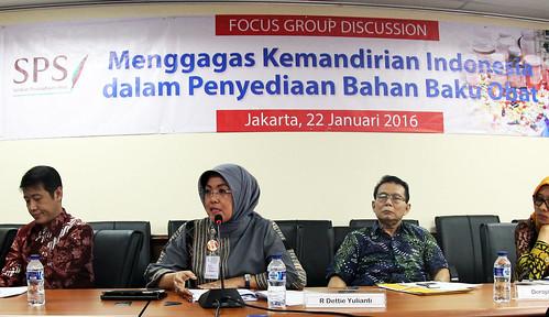 Diskusi Kemandirian Indonesia dalam Penyediaan Bahan Baku Obat