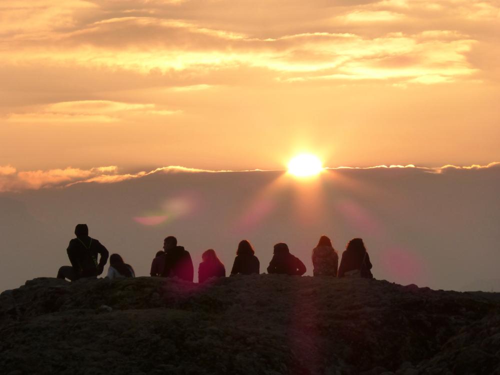 Sunset in Meterora