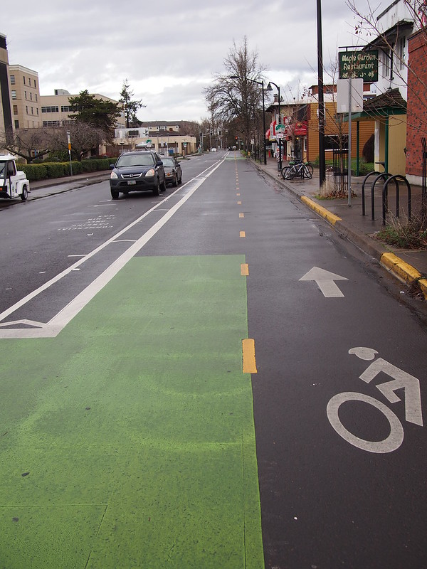 Two-way Bike Lane