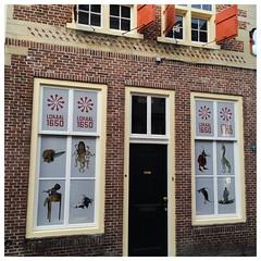 Jheronimus Bosch jaar 2016. One way vision folie geprint en gemonteerd door www.bosontwerp.nl