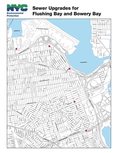 Flushing Bay and Bowery Bay Sewer Upgrades