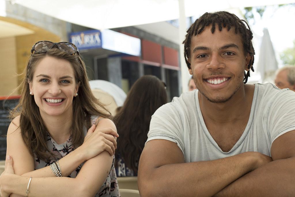 Рейчел и парень из Германии