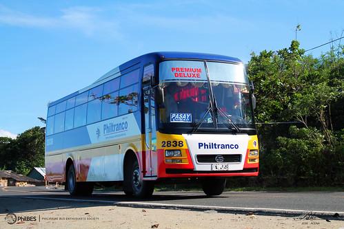 bus santarosa society ud philippine enthusiasts 2838 philtranco philbes exfoh fe6ta pkb212n