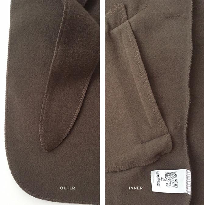 boohoo waterfall wrap jacket petites review