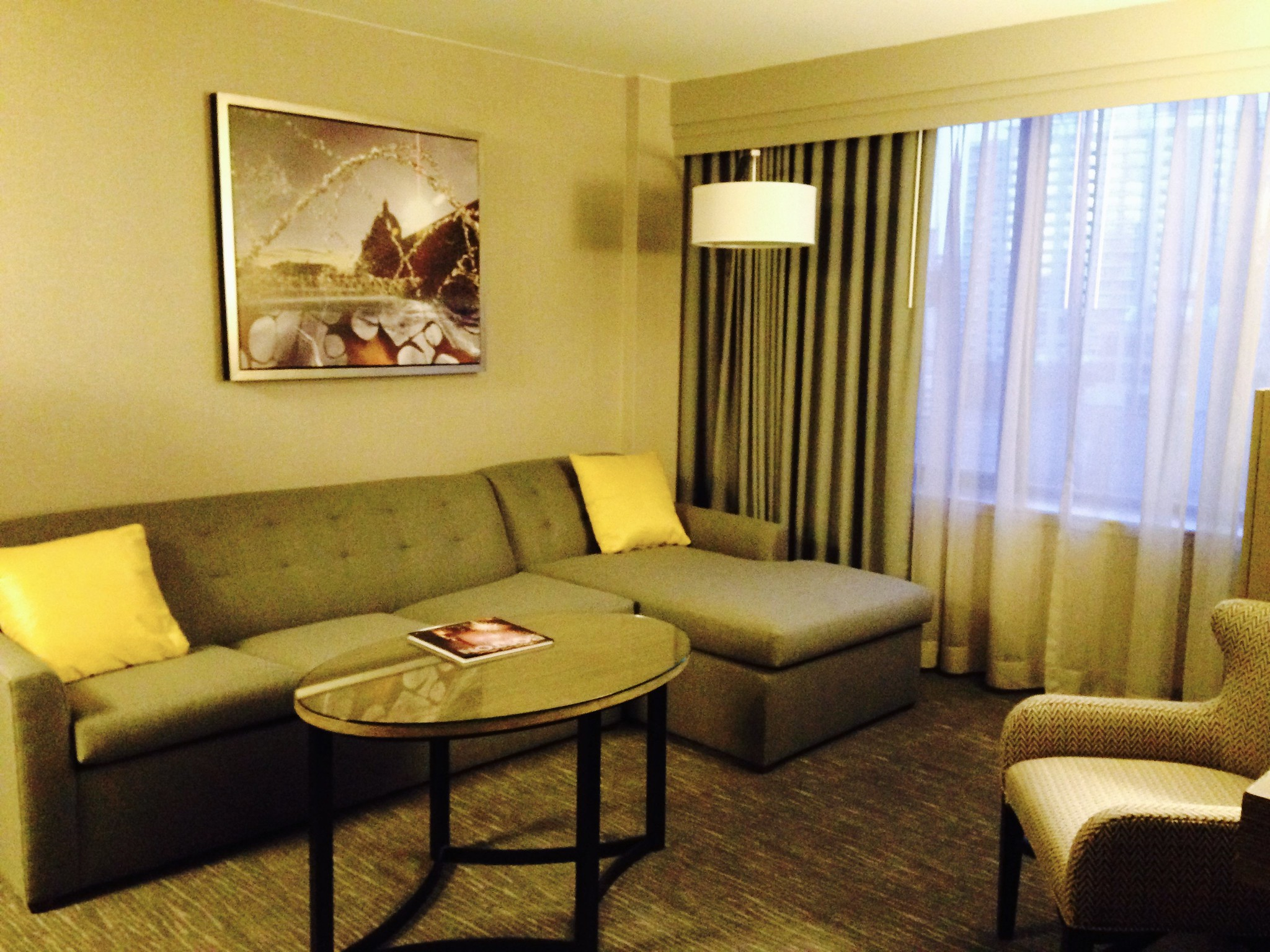Hyatt Regency Boston Executive Suite