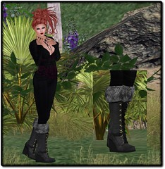 SaCaYa - Sanni Wedge boots
