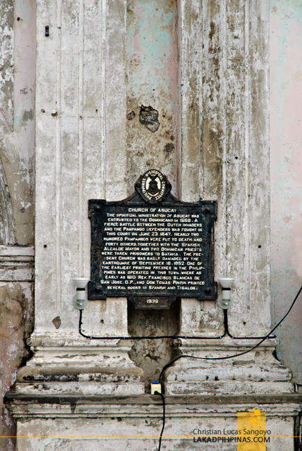 St. Dominic Church Abucay Bataan Historical Marker