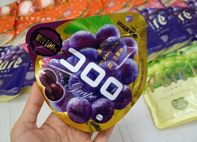 36 日本人氣軟糖推薦 UHA味覺糖 KORORO pure 甘樂鮮果實軟糖