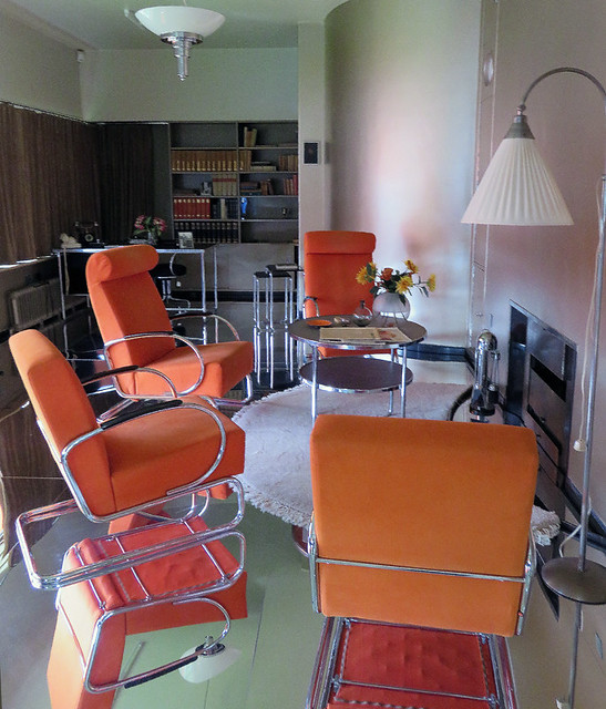 Den in the Sonneveld House in Rotterdam, Holland