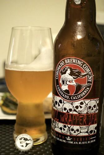 Coronado Skull Wrapper IPA 1