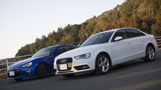 Audi A4 & SUBARU BRZ