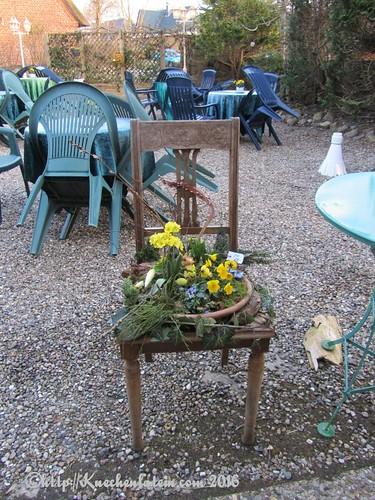Bauernhof Café auf dem Rosenhof Hohn Ostergesteck