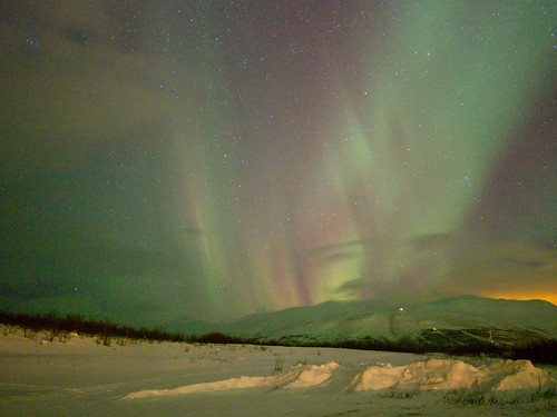 Nothern Lights-Abisko-Sweden