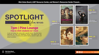 Poster for Spotlight Film Series