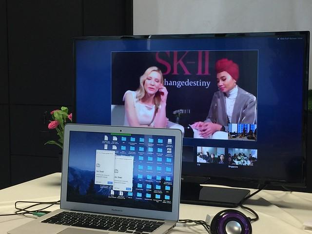 SK-II with Cate Blanchett _Nicolekiss