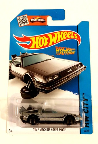 Hot Wheels Flying DeLorean