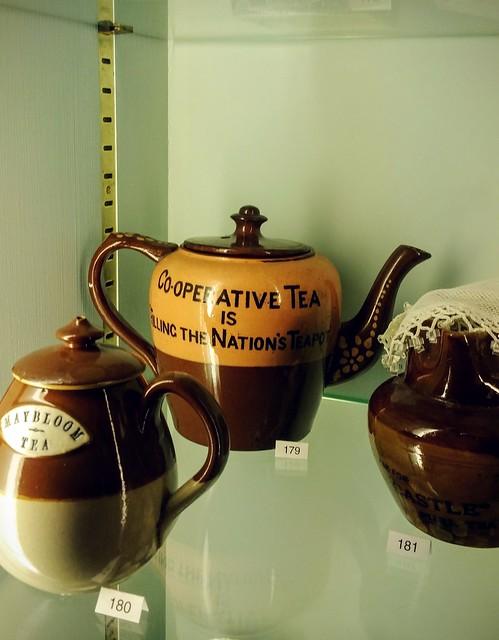 Newport museum teapot