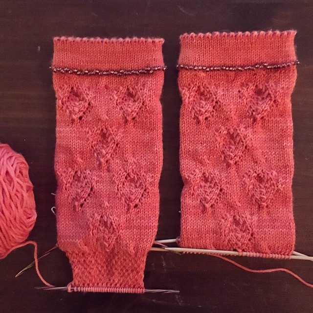 Rose and Thorn socks