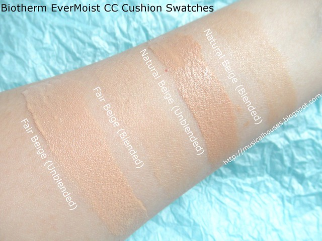 Biotherm Evermoist CC Cushion Swatch