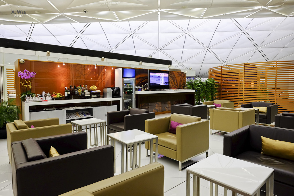 Thai Airways First Class Lounge