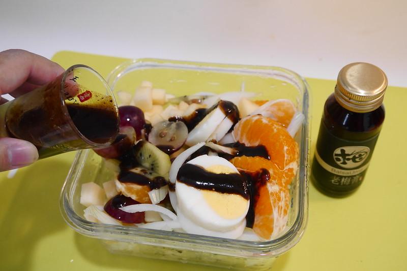 禮好福氣包|老梅醬料理|水果沙拉