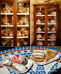 Sicilia Erice pasticceria Maria Grammatico