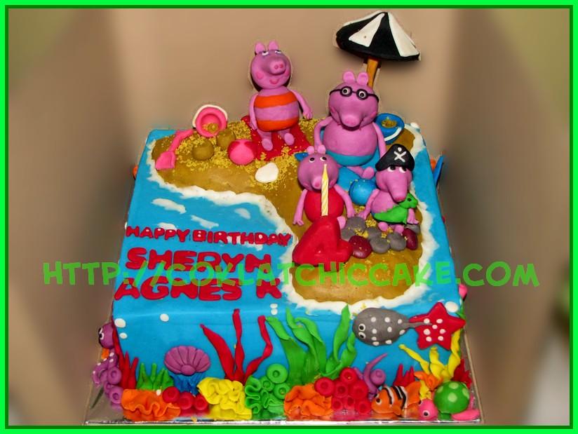 Cake Peppa the pig