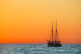 穏やかな海 by pixabay