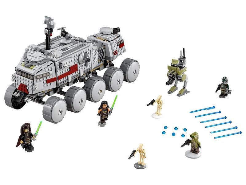 LEGO Star Wars set 2016: 75151 - Clone Turbo Tank