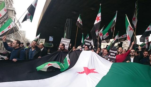 London Demo 5th Anniversary Syrian Revolution 12 March 2016