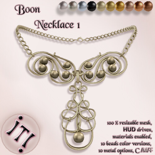 !IT! -  Boon Necklace 1 Image