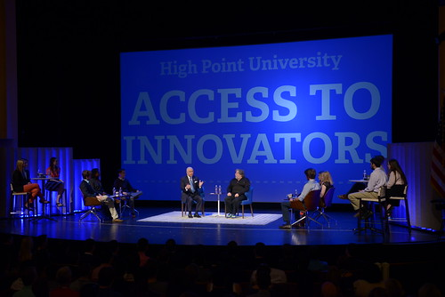 Steve Wozniak HPU Innovator In Residence by HIGH POINT UNIVERSITY