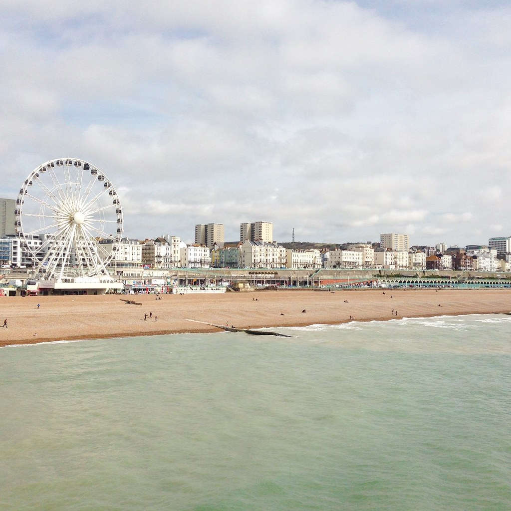 brighton from the pier