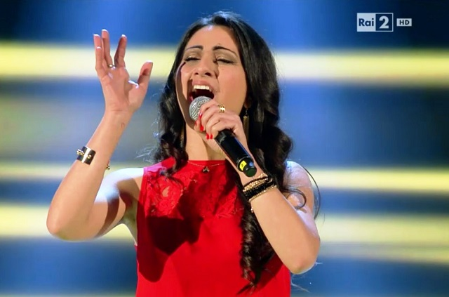 Noicattaro. Katy Desario a 'The Voice' intero